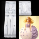 3pcs Novelty Woman Body Shape Decoration DIY Fondant Cake Molds