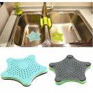 Starfish Drain Hair Catcher Bath Stopper Strainer Filter Shower Cover