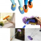 2Pcs Multifunction Cleaning Mophead Overshoe Floor Dust