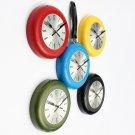 Flying Pan Wall Clock Quartz Hanging Design