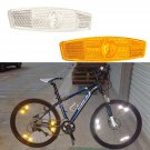 Bicycle Reflector Wheel Spoke Reflecting Warning Devicce For Safety