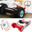 Dumbbell Alarm Clock Shape Lift Up 30 Times Exercise