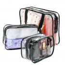 Portable Travel Clear Waterproof PVC Organizer Bags