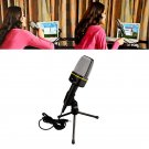 Studio Condenser Microphone Mic Recording with Stand