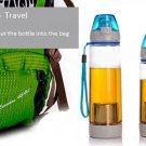 600ml Portable Infusing Water Bottle Leak Proof Outdoor Sport