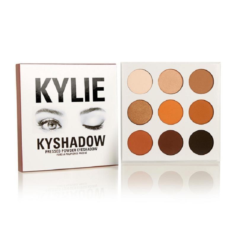 9 Color Kylie Waterproof Long Lasting Makeup Matte Kit Eyeshadow Palette