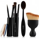 5 in 1 Foundation Eyeshadow Powder Sponge Makeup Brush Set