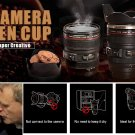 Creative Simulation Camera Lens Coffee Mug Cup Novelty Gift