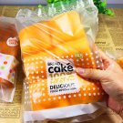 Squishy Super Slow Rising Abdominal Muscle Bread In Orange Color