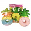 Squishy Jumbo Pineapple Fruit Donut Slow Rising Collection Gift Decor Toy