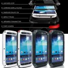 Gorilla Glass Aluminum Metal Waterproof Case For Samsung Galaxy S4