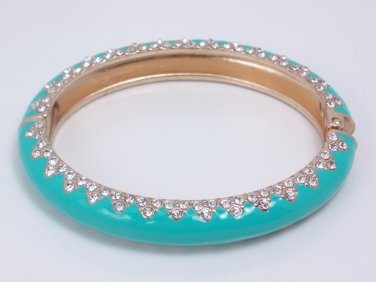 garlicfashion special elegant women fashion Paige enamel bangle