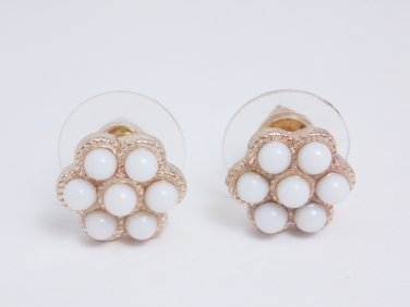 garlicfashion special elegant women fashion Paradise flower stud earrings RV24