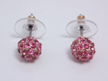 garlicfashion special elegant women fashion Soiree pink earrings RV39