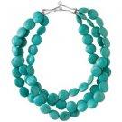 garlicfashion special elegant women fashion Turquoise sea necklace