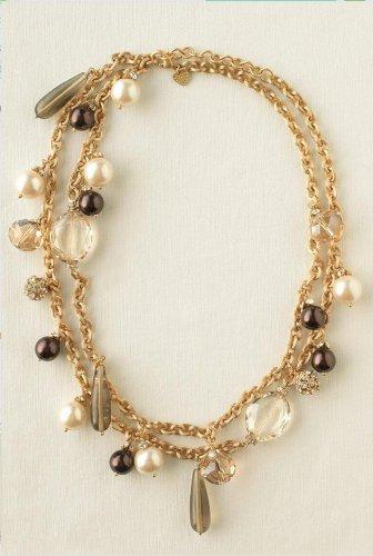 garlicfashion special elegant women fashion Audrey Cluster Necklace