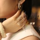 garlicfashion special elegant women fashion Solane enamel bangle earrings