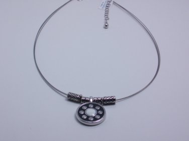 garlicfashion DIY handmade women fashion Roundabout necklace 3-wired choker