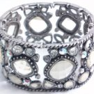 garlicfashion DIY handmade women fashion After Party transparent CZ vintage bracelet