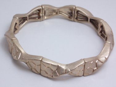 garlicfashion DIY handmade women fashion Swivel gold elastic bracelet RV35