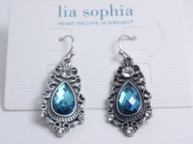 garlicfashion DIY handmade women fashion Heirlrom Montana resin teadrops earrings