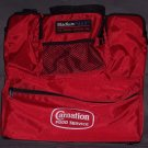 NEW, NO TAGS! Stadium Pack Ultimate Spectator Bag, Seat Cushion! Carnation Foods' Logo!