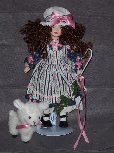 TREASURY COLLECTION PORCELAIN LITTLE BO PEEP DOLL