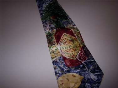 NEW! Tabasco 100% Imported Silk Novelty Tie