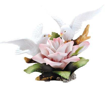 Doves on Rose