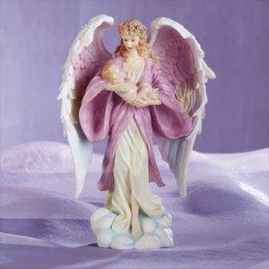 Angel Holding Baby