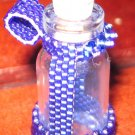 Blue Beaded Bottle ~ Hold your little treasures!