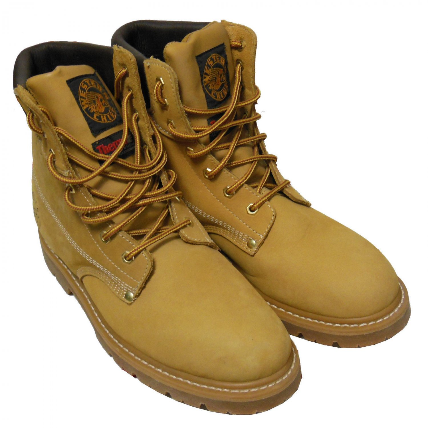 848dfefad55cc Western Chief Insulated Soft Toe Leather Work Boot Men 12 Tan (new, no box)