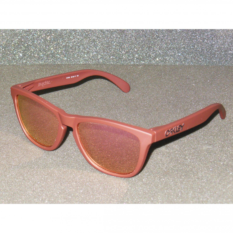 Oakley Frogskins Retro Sunglasses Summit Edition Basin Red/Pink Iridium