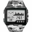 Timex Expedition WS4 Watch T49841 Grey Urban Camo Altimeter Compass Barometer Thermometer