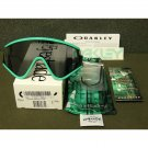 Oakley Eyeshade Heritage Collection Retro Sunglasses, Seafoam/Grey
