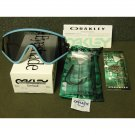 Oakley Eyeshade Heritage Collection Retro Sunglasses, Blue/Grey