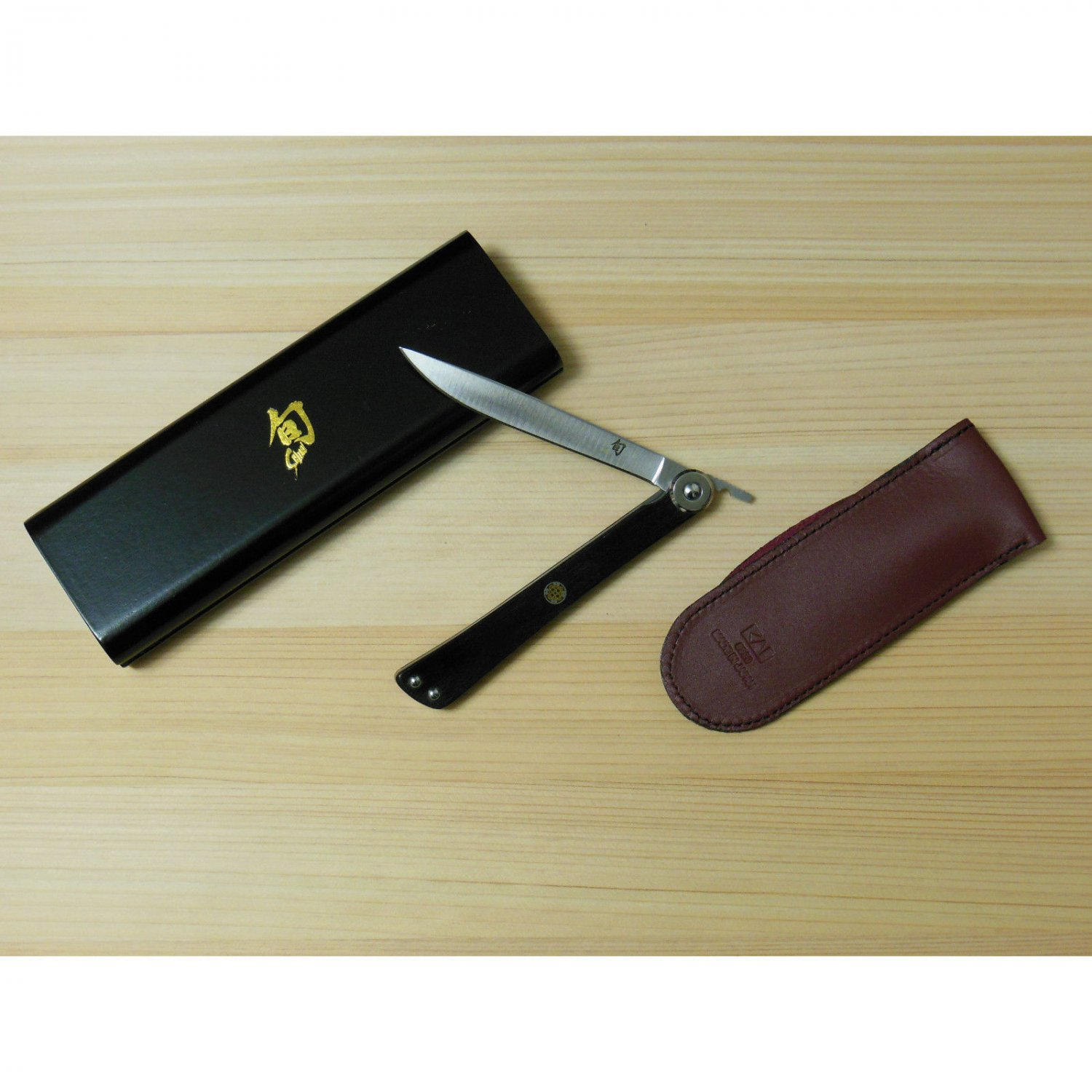 Shun Higo Nokami Gentleman's Personal Folding Steak/Pocket Knife 5900