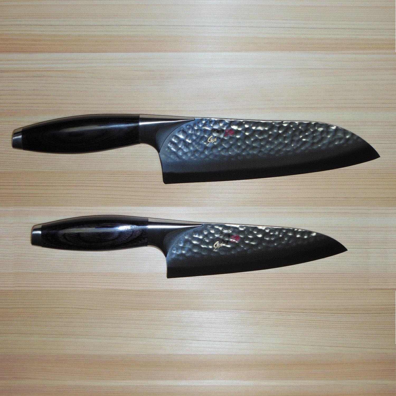 "Shun Edo 2-piece Knife Set, 7.5"" Santoku BB1505/6.5"" Chef BB1502"