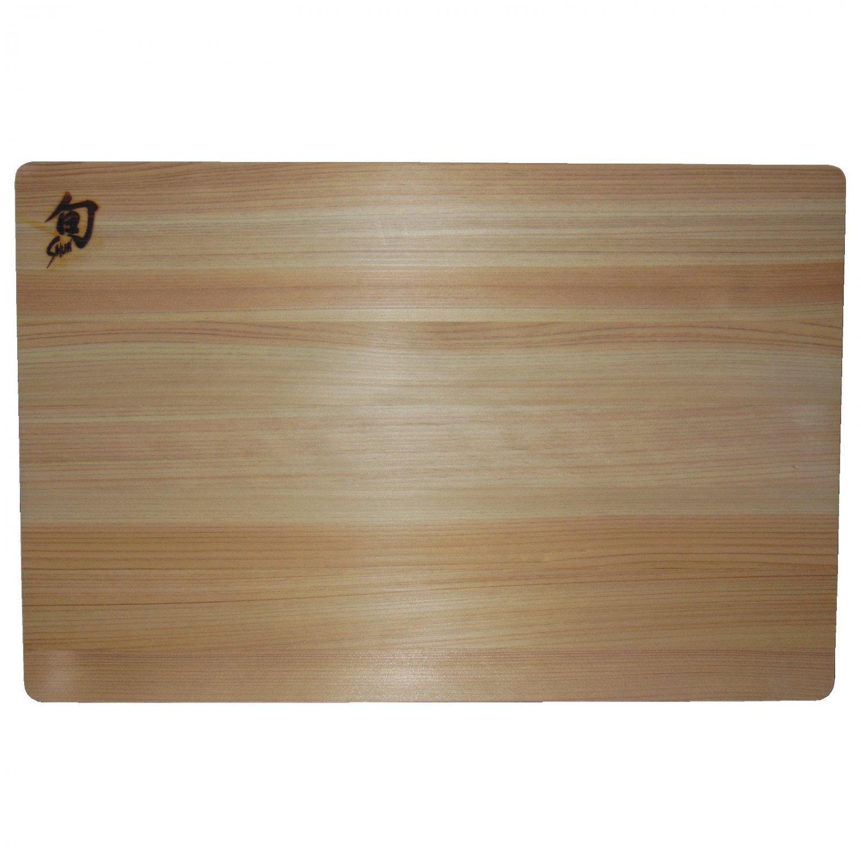 Shun Hinoki Wood Cutting Board DM0807, 12 x 18