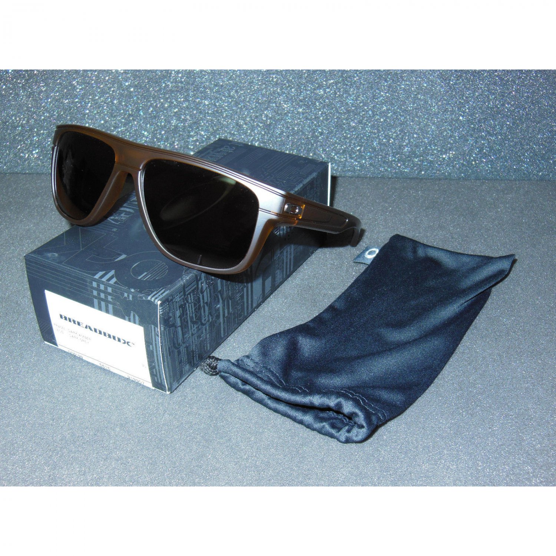 Oakley Breadbox Sunglasses Matte Dark Amber/Dark Grey