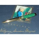 Montblanc Meisterstuck Solitaire Malachite Hommage a Wolfgang Amadeus Mozart Mechanical Pencil 22117