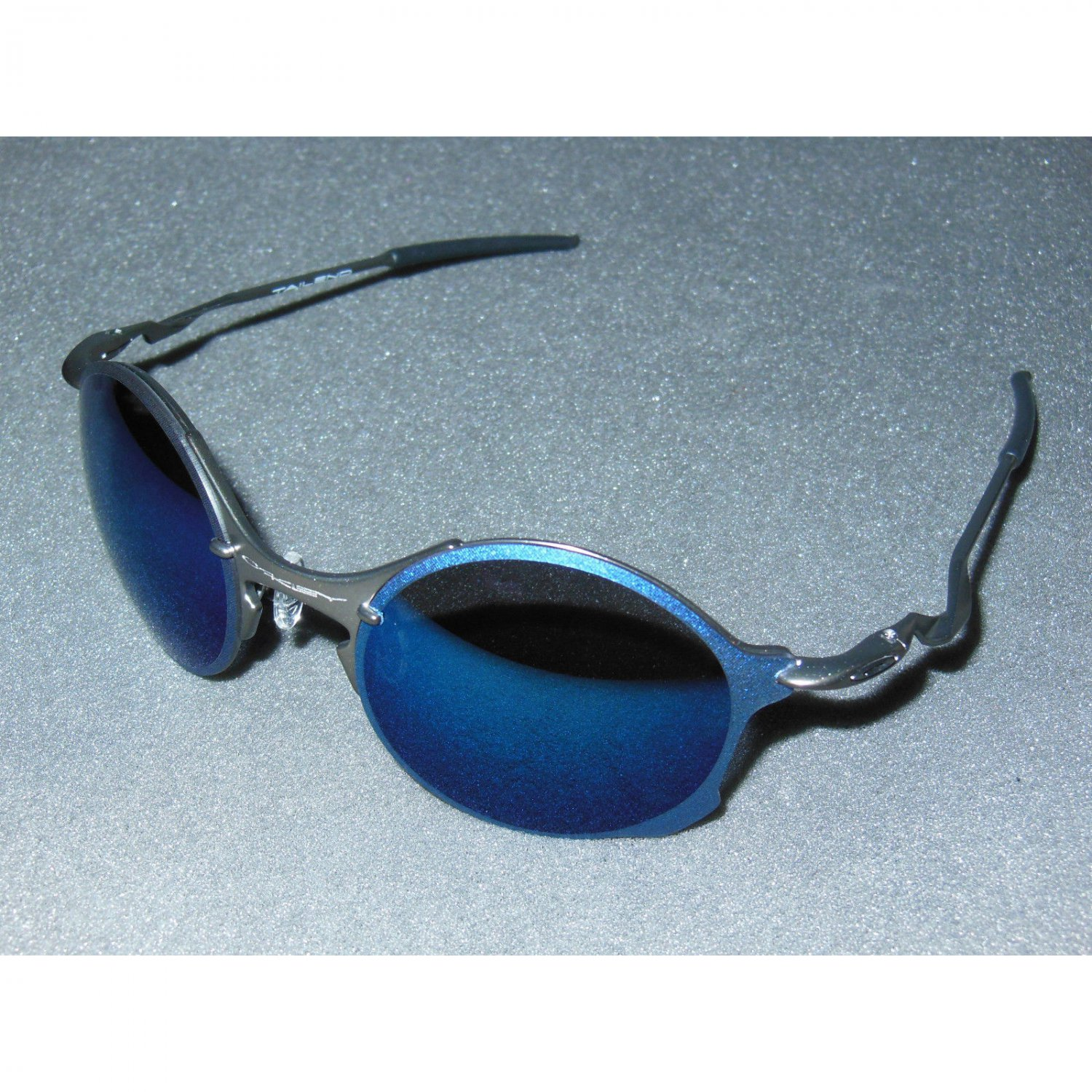 Oakley Tailend Rimless Sunglasses Pewter/Ice Iridium