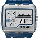 Timex Expedition WS4 Watch T49760 Blue/Silver Altimeter Compass Barometer