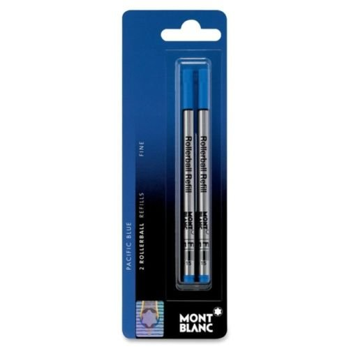 Montblanc Pacific Blue Fine Rollerball Pen Refill (2x1) 107882