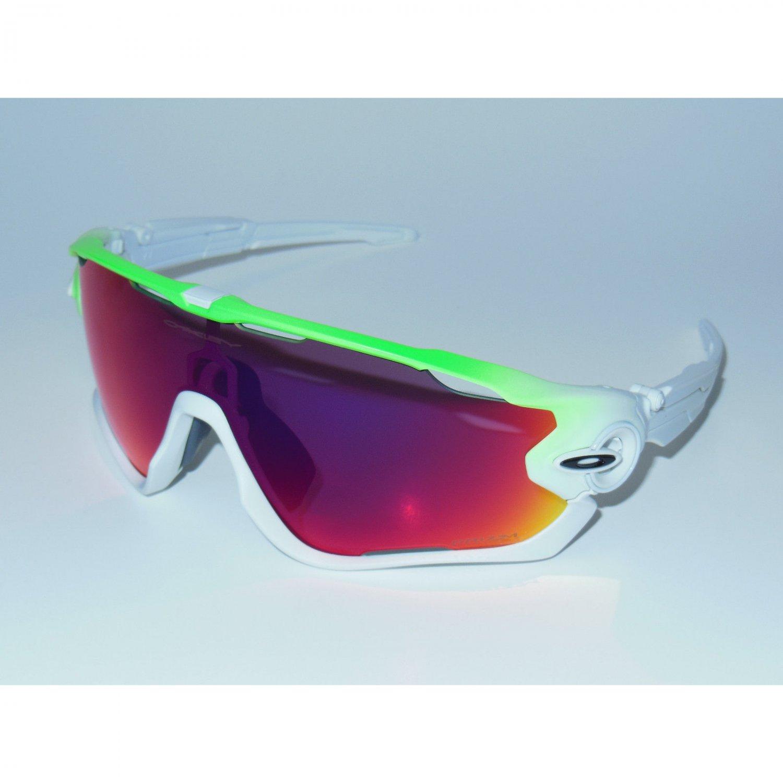 Oakley Jawbreaker Sunglasses Green Fade/Prizm Road
