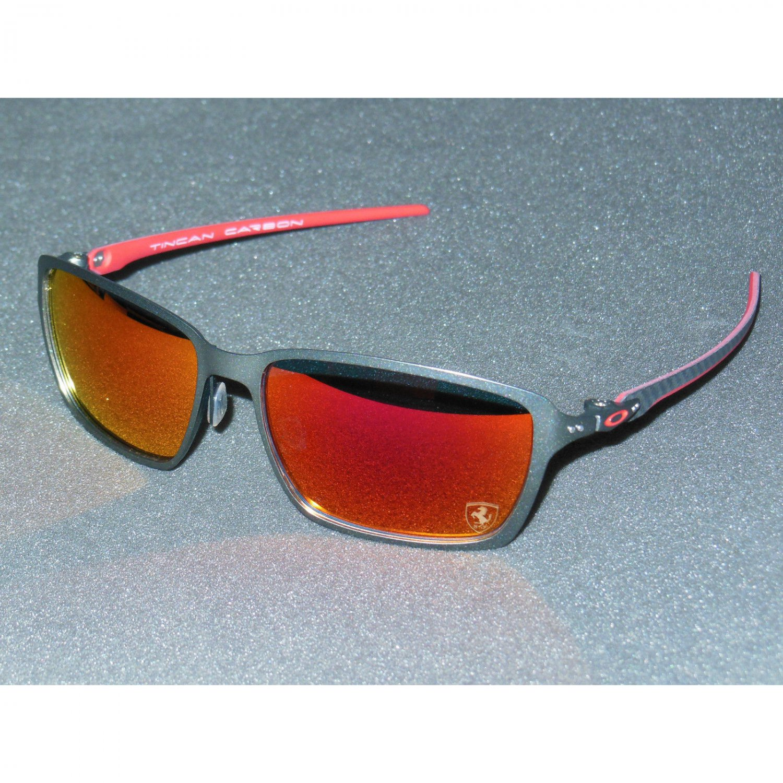 ee7c4308c0 Oakley Tincan Carbon Ferrari Sunglasses Carbon Ruby Iridium