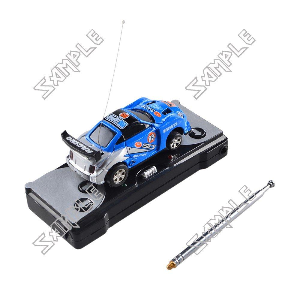 Remote controlled mini car (Blue/Silver)