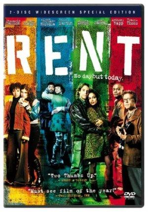 RENT - Idina Menzel, Rosario Dawson - DVD, NEW