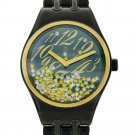 Wintour CC Collection Black and Gold Diamond Watch