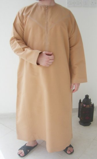 Red Sand Emirates Gandoura / Dishdash / Thob / Kameez